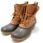 防水性バツグンで雨の日に最適なブーツ〜エル・エル・ビーン ビーン・ブーツ 8インチ(L.L.Bean Bean Boots 8inch)〜