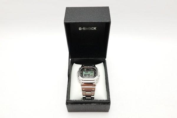 ジーショック フルメタルDW-5000 -G-SHOCK GMW-B5000D-1JF- ボックス