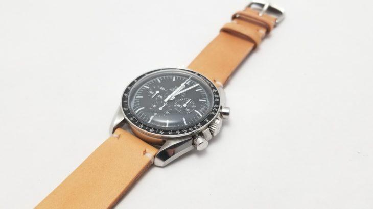 new product 5b53e 7d940 腕時計のメタルベルトを経年変化も楽しめるレザーベルトに交換 ...