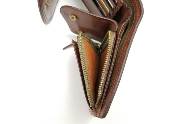 コルボ スレート 三ツ折財布(CORBO SLATE WALLET 8LC-9364)-小銭の収能力