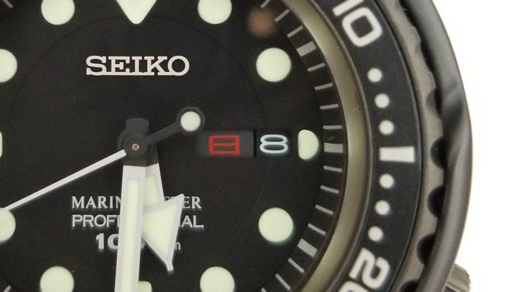 セイコー マリーンマスター プロフェッショナル -SEIKO MARINEMASTER PROFESSIONAL NO.SBBN025- カレンダー