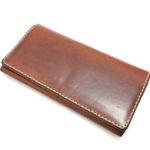 使い勝手が良い革の長財布は経年変化も魅力〜ヘルツ フラップロングウォレット(HERZ FLAP LONG WALLET WL-106)〜