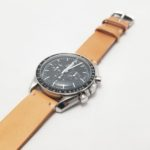 腕時計のメタルベルトをレザーベルトに交換〜オメガ スピードマスター プロフェッショナル(OMEGA SPEEDMASTER PROFESSIONAL)〜